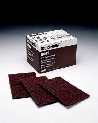 Scotch-Brite Extra Duty Hand Pad 6444B, 6 in x 9 in, 60 pads per case Bulk