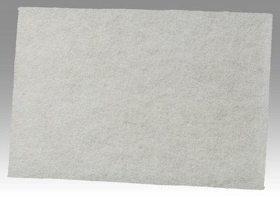 3M 17637 Scotch-Brite Light Cleansing Pad 7445B, 60 pads bulk per case