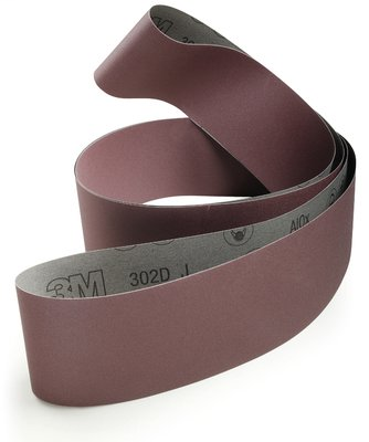3M 30710 Cloth Belt 302D 2 in x 132 in 80 J-weight 25 per inner 50 per case