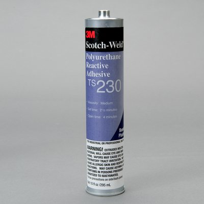 3M Scotch-Weld PUR Easy Adhesive TS230 Off White, 1/10 gal, 5 per case