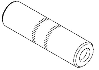 3M Connector CI-350, 350 kcmil stranded, Connector O.D. 1.125 in (28,6 mm), 10 per case