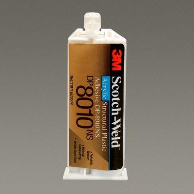 3M(TM) Scotch-Weld(TM) Structural Plastic Adhesive DP8010NS Off-White, 35 mL, 12 per case, Obsolete