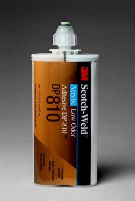 3M Scotch-Weld Low Odor Acrylic Adhesive DP810 Tan, 400 mL, 6 per case