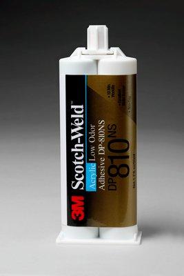3M Scotch-Weld Low Odor Acrylic Adhesive DP810NS Tan, 50 mL, 12 per case