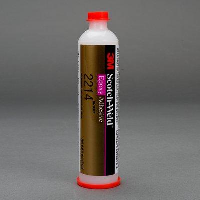 3M Scotch-Weld Epoxy Adhesive 2214 Hi-Temp New Formula Gray, 6 fl oz, 6 per case