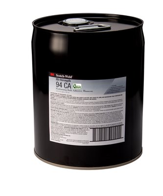 3M Hi-Strength Postforming 94 CA Adhesive Clear Low VOC, 5 gal pail, 1 per case Bulk - NOT FOR CONSUMER/RETAIL SALE OR USE