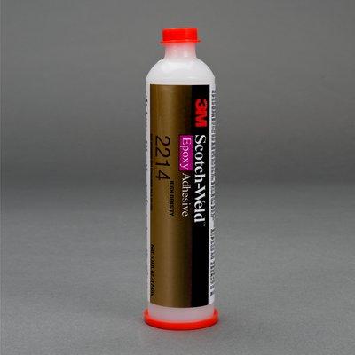 3M Scotch-Weld Epoxy Adhesive 2214 Hi-Density Gray, 6 fl oz Plastic Cartridge, 6 per case