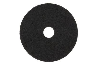 3M Black Stripper Pad 7200, 17 in, 5/case