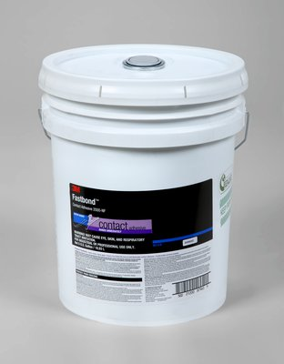 3M Fastbond Contact Adhesive 2000NF Blue, 5 gal poly pail Pour Spout, 1 per case Drum
