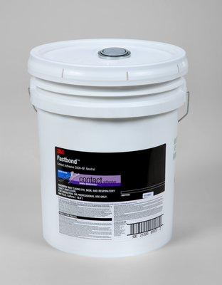 3M Fastbond Contact Adhesive 2000NF Neutral, 5 gal poly pail Pour Spout, 1 per case