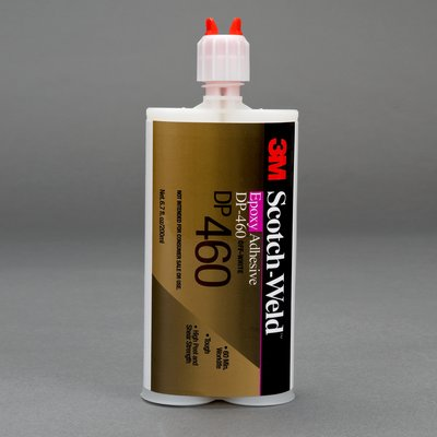 3M 87831 Scotch-Weld Epoxy Adhesive DP460 Off-White 400 mL 6 per case