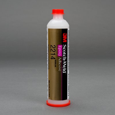 3M Scotch-Weld Epoxy Adhesive 2214 Regular Gray, 6 fl oz, 6 per case