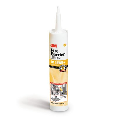 3M 16557 Fire Barrier Sealant IC 15WB+, 10.1 fl. oz., Cartridge, 12/case