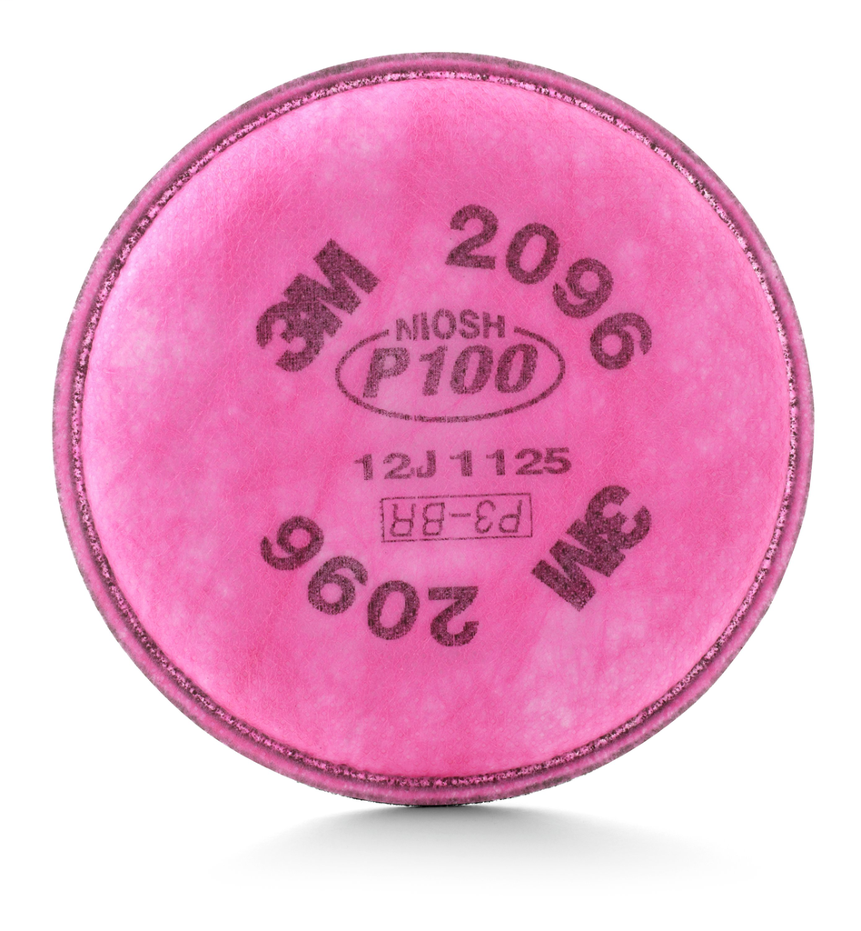3M Company 2096 P100 with Nuisance Level Acid Gas Relief Particulate Filter