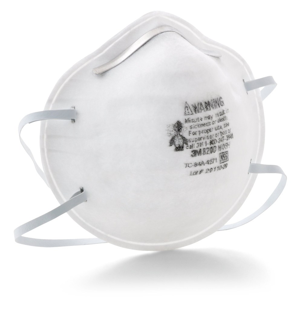 3M 3M™ Particulate Respirator 8200/07023(AAD), N95 160 EA/Case