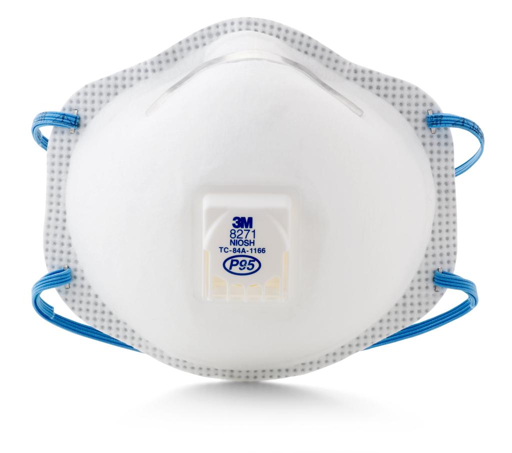 3M 8271 P95 80/Case Particulate Respirator