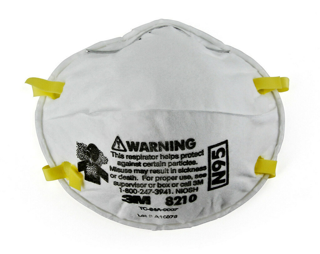 3M 3M™ Particulate Respirator 8210, N95