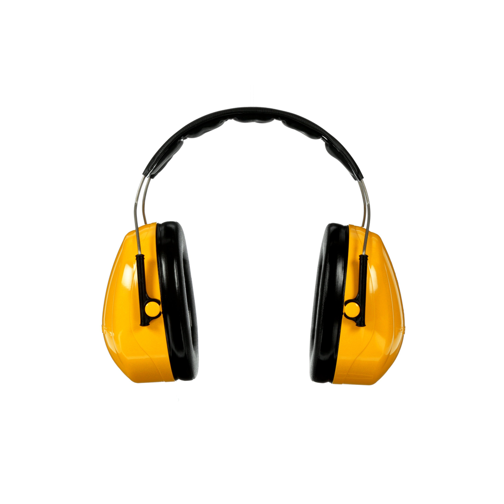 3M H9A Peltor Optime 98 Yellow Noise Reduction Rating 25 dB 10/Case Over-The-Head Hearing Protection