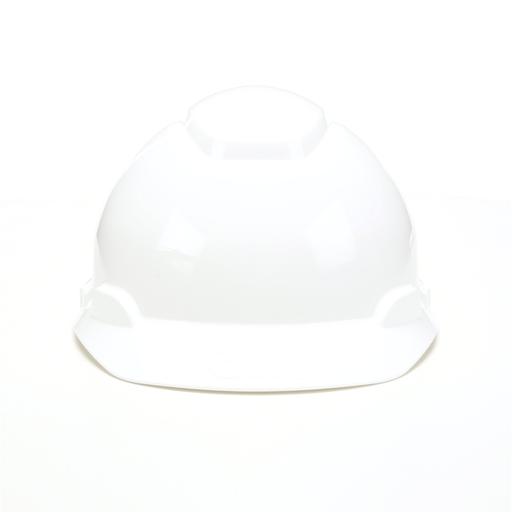 Mayer-3M™ Hard Hat, White 4-Point Ratchet Suspension H-701R, 20 EA/Case-1