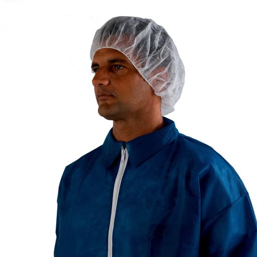 Mayer-3M™ Disposable Hair Net 407 Mob Cap White 18, 1000/case-1