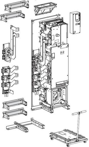 A-B 20G11TD545AN0NNNNN PowerFlex 755 480VAC 545A 450HP OPEN