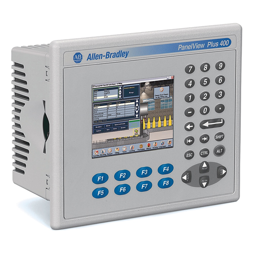 A-B 2711PC-B4C20D8 Graphic Terminal Compact 3 5 in  TFT
