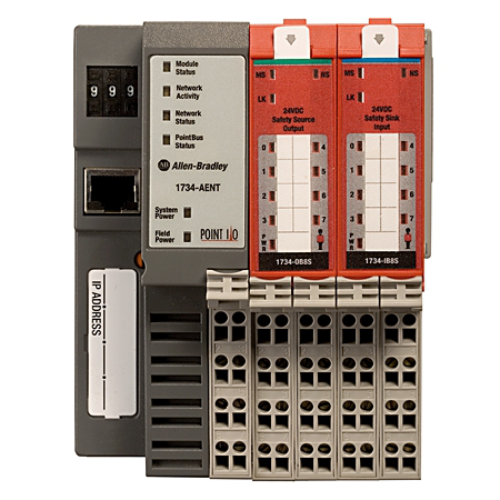 A-B 1734-IB8S 8-CHANNEL SAFETY SINKING INPUT MODULE on