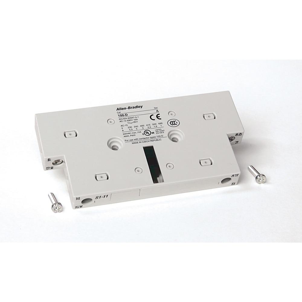 Allen-Bradley 100-DS1-11 Contactor Auxiliary Contact Block
