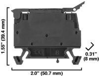 A-B 1492-WFB424 FUSED TERMINAL BLOCK