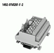 20-Point Fusible Digital IFM, 5 x 20mm Fuse Clips, Extra Terminals for Outputs, , , Digital Interface Module
