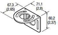 60-2421 Right Angle (90 Degree) Mounting Bracket