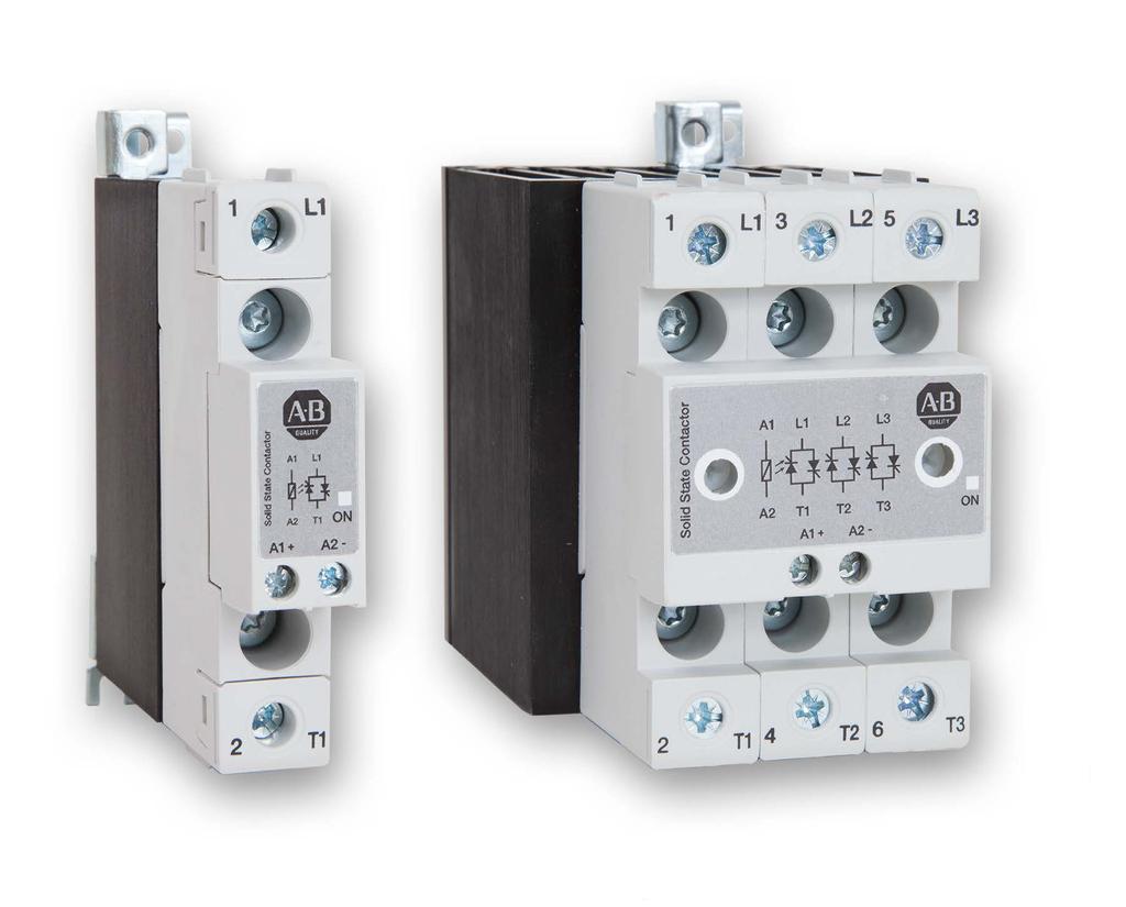 A-B 156-C2P75NCBA 2 Phase SSC 75A 600VAC AC or DC control