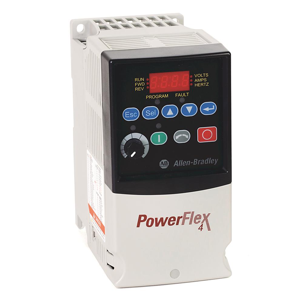 A-B 22A-V4P5F104 PowerFlex 4 0.75 kW (1 Hp) AC Drive