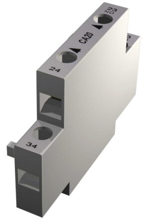 A-B 150-CA11 AUX CONTACT BLOCK 1-N.O & 1-N.C.