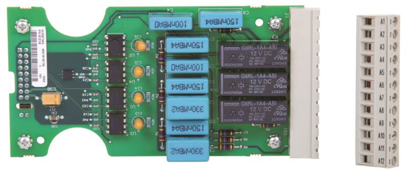 A-B 150-SM4 SMC-50 DIGITAL I/O MODULE: 4 AC INPUTS AND 3 RELAY OUTPUTS