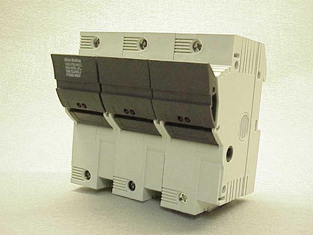 A-B 1492-FB3J60 3-POLE 60A TYPE J FUSE BLOCK