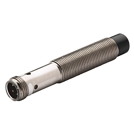 Proximity Sensor, 3-Wire DC Extended Range Standard Barrel, 30mm Diameter, Tubular:Nickel Plated BrassRectangular, Standard, 20mm Sensing Distance, Unshielded, N.O., Source (PNP) Output, Micro QD (DC)