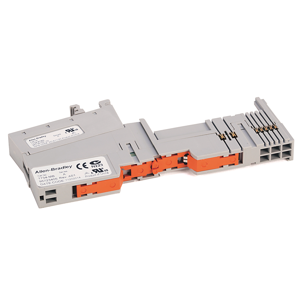 Module Bases W/ Removable IEC Spring Terminals