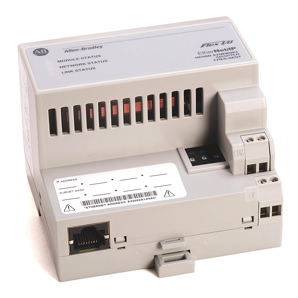 1794 Flex, Flex Ex, Flex XT I/O System, EtherNet/IP 10/100 Mbit FLEX I/O Adapter Module (10BaseT)