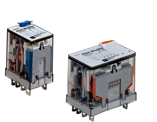 Allen-Bradley 700-HF34A06 Miniature Square Base Relay