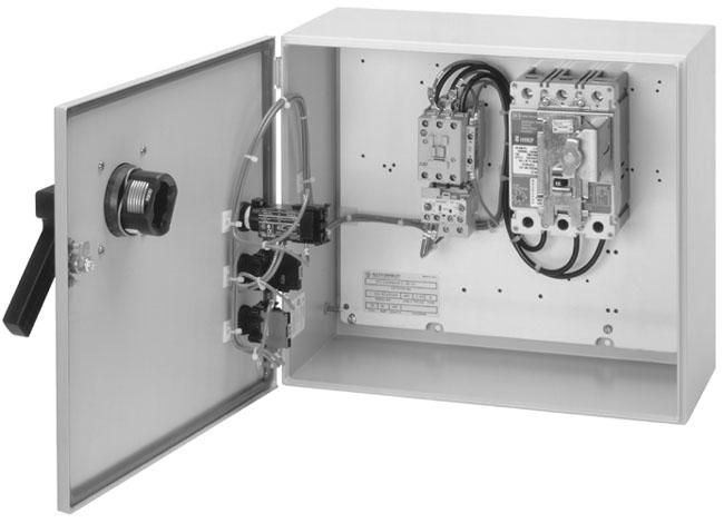 Allen-Bradley 113-C60AADE1G-43 Bulletin 113 - IEC Combination Starter - Circuit Breaker Type, IP42 (Type 1 - Metal), 60 Amp, 230-240V 60Hz Primary / 120V 60Hz Secondary Separate Control