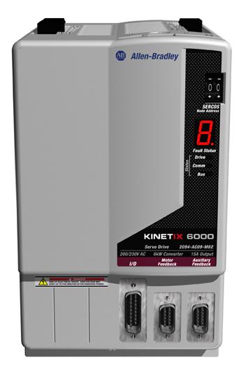 Allen-Bradley 2094-AC09-M02-S Kinetix 6000 Integrated Axis Module