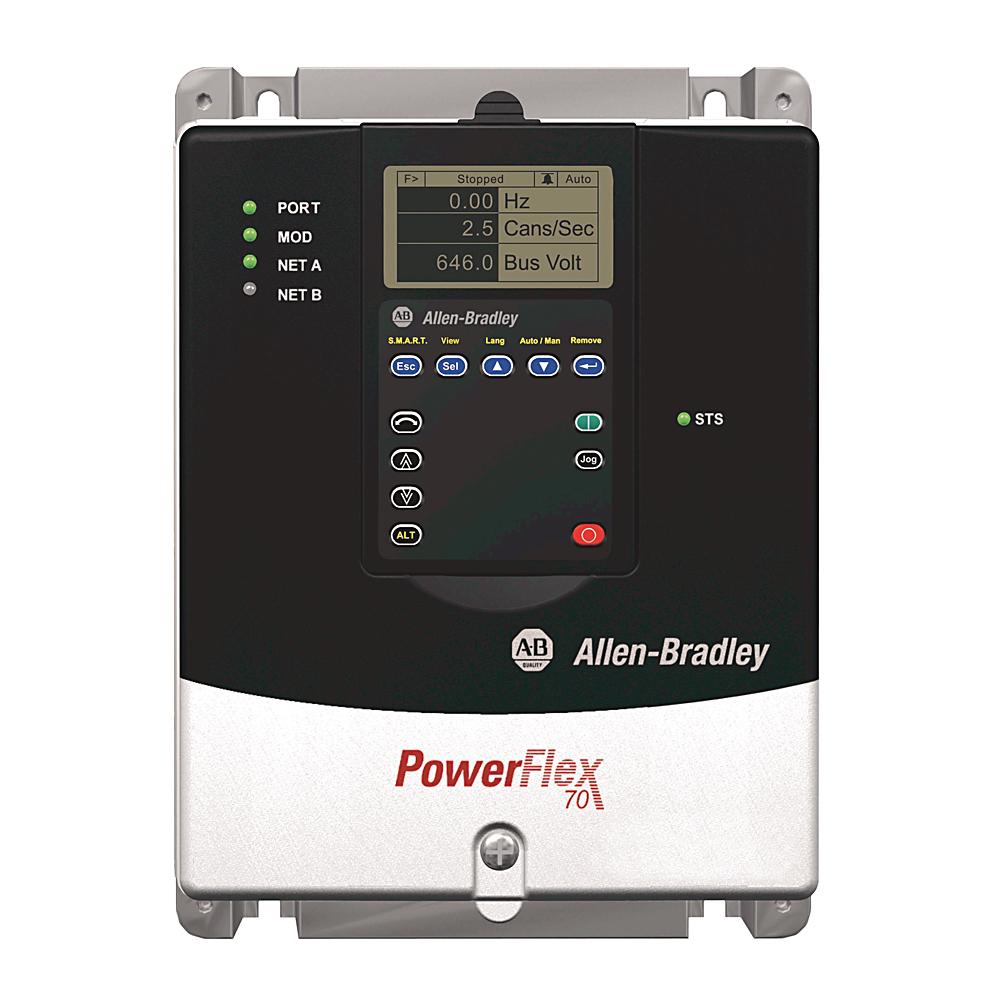Allen-Bradley 20AB6P8A0AYNNNC0 PowerFlex 70 A