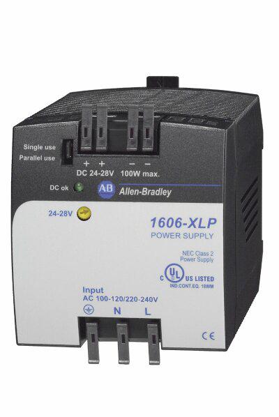 1606-XLP100E: Compact Power Supply, 24-28V DC, 100 W, 100-120 / 220-240V AC / 290V DC Input Voltage