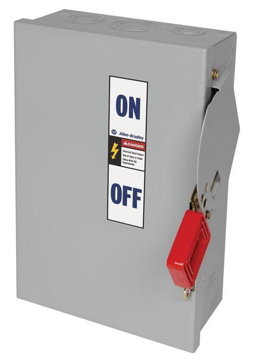 Allen-Bradley 1494H-DA3H6 Safety Switch, 100