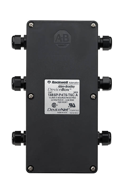 Allen-Bradley 1485P-P8T5-T5C 8-Port Thin Trunk Device Box Tap