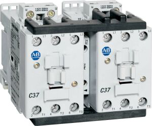 104-C Reversing Contactors, 43A, Line Side, 24V 50/60Hz, 1 N.O. 1 N.C.