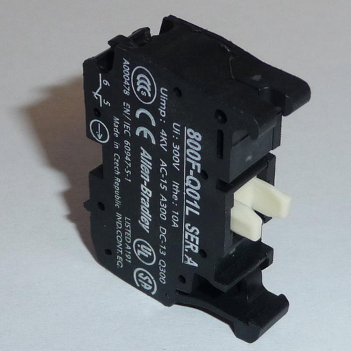 Incandescent Module, Metal Latch Mount, 120V AC, 2 N.O. Contact(s), 0 N.C. Contact(s), Standard