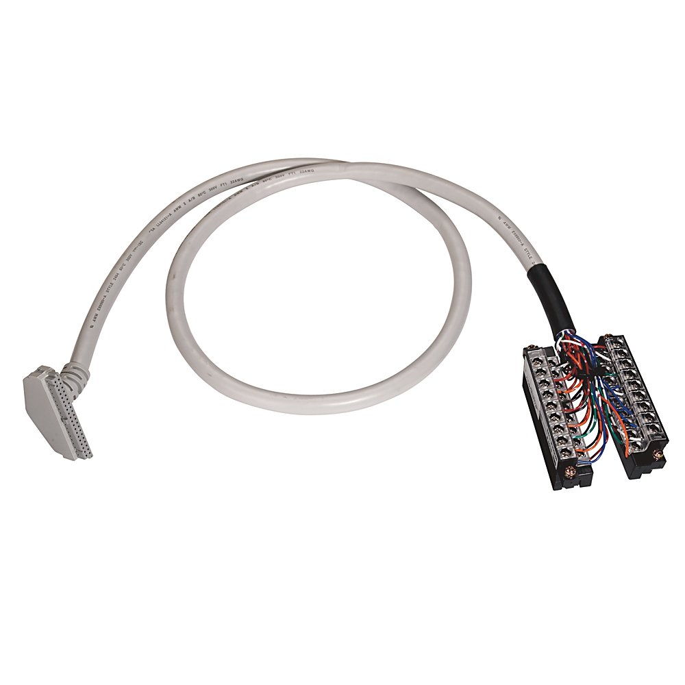 Allen-Bradley 1492-CAB010D69 1 m 300 Volt 22 AWG 20-Conductor Pre-Wired Digital Interface Cable