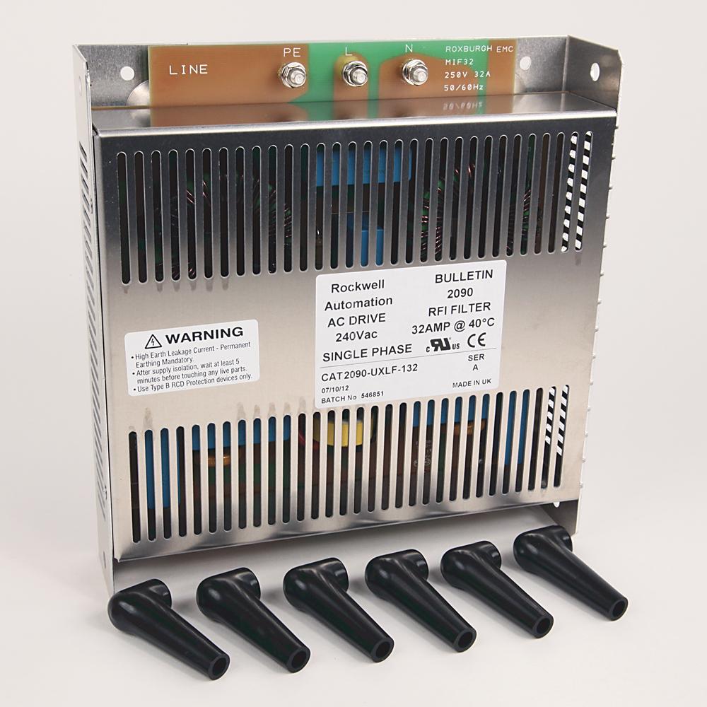 AC Line Filter,Ultra,23 Amps, 460V, 3 Phase.